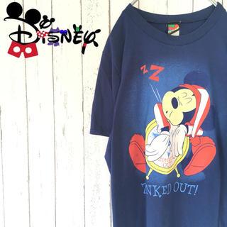 ディズニー(Disney)の古着 Disney USA  プリントTシャツ mickey UNLIMITED(Tシャツ/カットソー(半袖/袖なし))