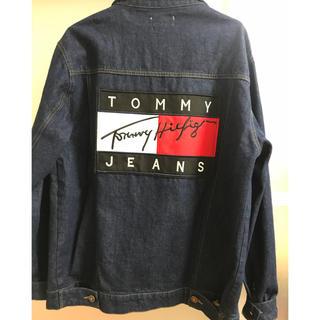 トミーヒルフィガー(TOMMY HILFIGER)のトミーヒルフィガーデニムのジャケット(Gジャン/デニムジャケット)