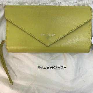 バレンシアガ(Balenciaga)のバレンシアガ BALENCIAGA 黄色 イエロー ミニ 財布 (財布)