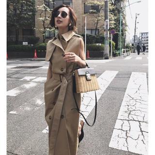 アメリヴィンテージ(Ameri VINTAGE)のAmeri vintage トレンチライクドレス ワンピース コート(トレンチコート)