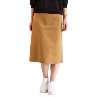 ビューティアンドユースユナイテッドアローズ(BEAUTY&YOUTH UNITED ARROWS)のフェイクスエード スカート BEAUTY & YOUTH(ひざ丈スカート)
