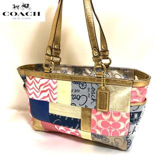 COACH - 美品✨コーチ パッチワーク バッグ
