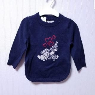d5661ad63f267 ベビーギャップ(babyGAP)のbabyGAP♥80㎝ ニット チュニック ディズニー 新品 女の子(. ニット セーター
