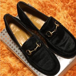グッチ(Gucci)のGUCCI 靴 ローファータイプ(ローファー/革靴)