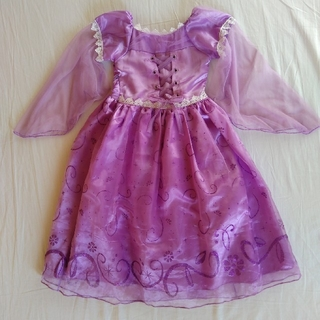 ディズニー(Disney)のプリンセスドレス  110cm  ラプンツェル(ドレス/フォーマル)