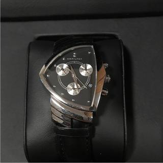 ハミルトン(Hamilton)の人気品! ハミルトン ベンチュラ カーキ ジャズマスター クロノグラフ レザー(腕時計(アナログ))