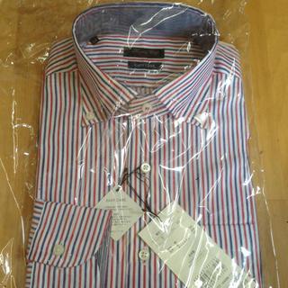 メンズビギ(MEN'S BIGI)の新品タグ付き☆ メンズビギ ストライプシャツ(シャツ)