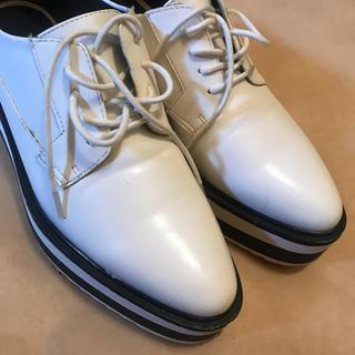 ザラ(ZARA)の厚底シューズ(ローファー/革靴)