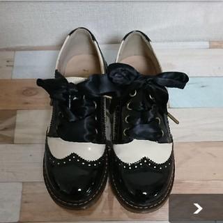 フィント(F i.n.t)のフィント ウィングチップ エナメルシューズ(ローファー/革靴)