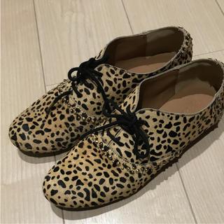 アングリッド(Ungrid)のungrid レオパード靴(ローファー/革靴)