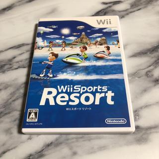 ウィー(Wii)のゲームソフト Wii Sports Resort(値下げ交渉可)(家庭用ゲームソフト)