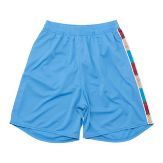 【美品】b Playground Tape Zip Shorts sax XXL