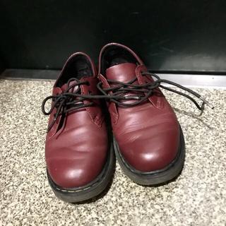 ドクターマーチン(Dr.Martens)のDr.Martens チェリーレッド 22cm ローファー(ローファー/革靴)