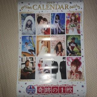 ロンハー 2013 カレンダー 奇跡の1枚 クリアファイル (カレンダー)