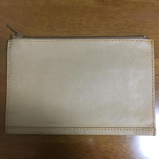 ムジルシリョウヒン(MUJI (無印良品))の無印良品 ジーンズのラベルで作ったケース(小物入れ)