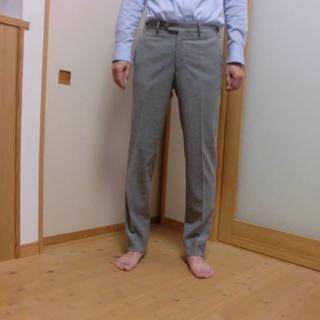 GERMANO(ジェルマーノ) ×ロロピアーナ生地 スラックス 未着用(スラックス)