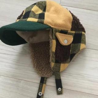 アンパサンド(ampersand)のampersand ★ モコモコ帽子 男の子 54センチ(帽子)