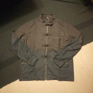 Ms'braque エムズブラック シルク100% チャイナボタン ジャケット(テーラードジャケット)