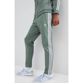 アディダス(adidas)の【Lサイズ】新品タグ付 adidas ベッケンバウアー ジョガーパンツ グリーン(その他)