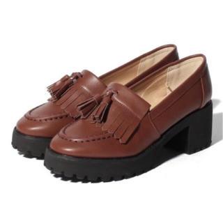 ワンアフターアナザーナイスクラップ(one after another NICE CLAUP)のナイスクラップ  タッセルローファー(ローファー/革靴)