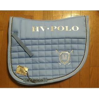 ポロクラブ(Polo Club)のゼッケン POLO ブルー 水色 乗馬 馬術 大会 (その他)