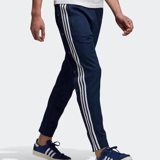 アディダス(adidas)のアディダススナップパンツ ネイビー(スラックス)