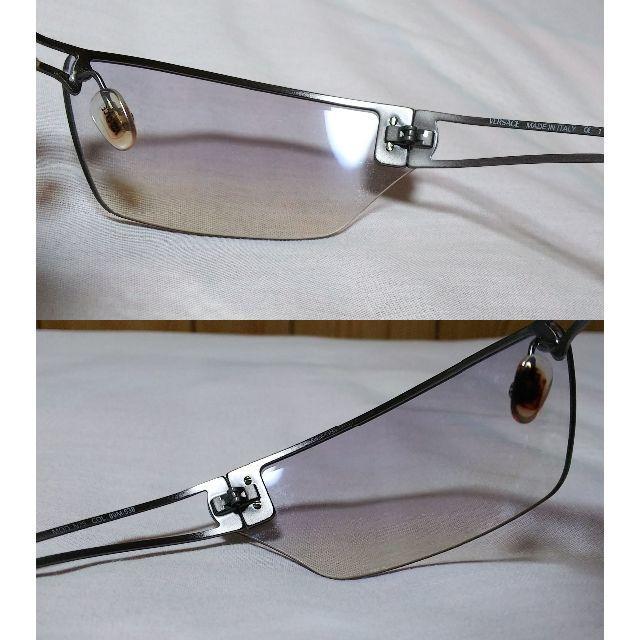 Gianni Versace(ジャンニヴェルサーチ)の正規美レア hyde ヴェルサーチ メデューサメタルフレームサングラス 黒グレー メンズのファッション小物(サングラス/メガネ)の商品写真