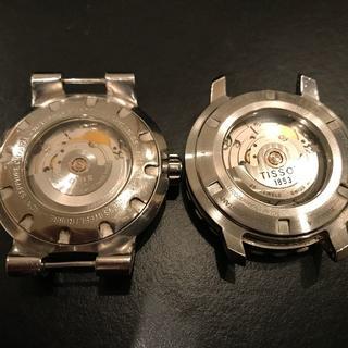 オリス(ORIS)の※ジャンク品 オリス 旧TT1左リューズ、ティソ 旧シースター1000(腕時計(アナログ))