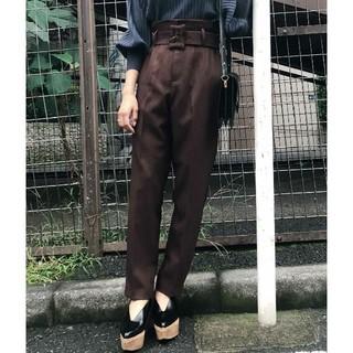 アメリヴィンテージ(Ameri VINTAGE)の新品タグ付き アメリヴィンテージ HUGE BUCKLE PANTS(カジュアルパンツ)