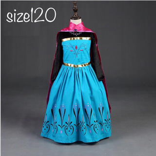 アナトユキノジョオウ(アナと雪の女王)のエルサドレス アナと雪の女王ドレス サイズ 120(ドレス/フォーマル)