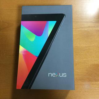 ネクサス7(NEXUS7)のgoogle NEXUS7 空箱(タブレット)