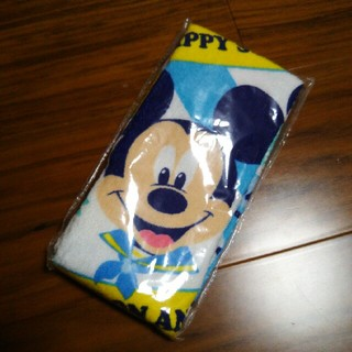 ミッキーマウス - ミッキーフェイスタオル