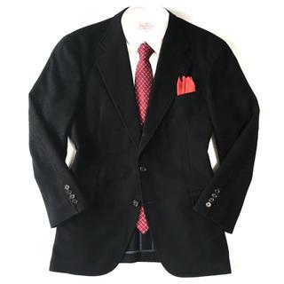 ラルフローレン(Ralph Lauren)の極美品★ラルフローレン×ウール主混紡生地◎日本製◎ブラックジャケット☆M☆459(テーラードジャケット)