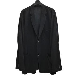 ヨウジヤマモト(Yohji Yamamoto)のYohji Yamamoto 15ss リネンニット 動体裁断 (テーラードジャケット)