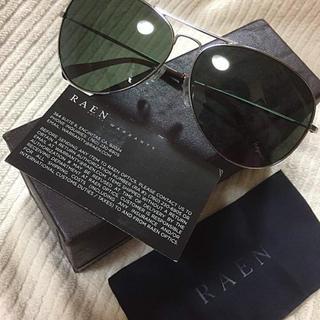 【最終値下げ】定価約25000円 美品 RAEN optics サングラス(サングラス/メガネ)
