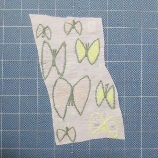 ミナペルホネン(mina perhonen)のミナペルホネン「skyflower」 希少はぎれ⑥ パステル系(生地/糸)