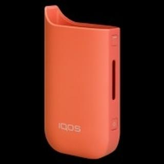 アイコス(IQOS)のIQOS 新 ケース サンセットオレンジ 未開封(タバコグッズ)