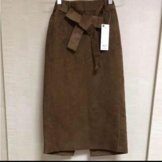 GU - ブラウンのスカート