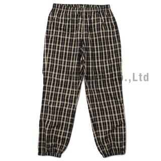 シュプリーム(Supreme)のSupreme Nylon Plaid Track Pant 茶S(その他)