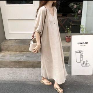 お値下げしました!韓国ファッション 新品 ワンピース(ロングワンピース/マキシワンピース)