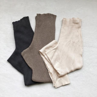 トゥデイフル(TODAYFUL)の新品♡thermal knit leggings♡(レギンス/スパッツ)