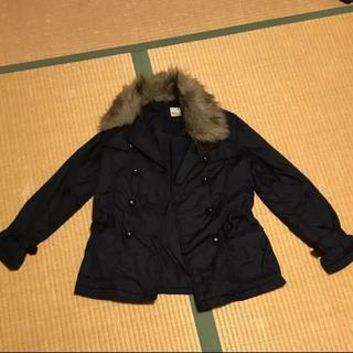 ジョア(Joie (ファッション))のJoie ファー付コート(毛皮/ファーコート)