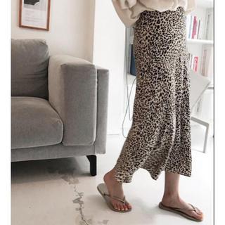 レオパード柄♡スカート(ロングスカート)
