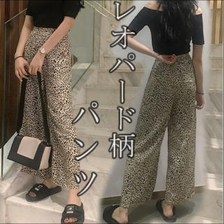 レオパード柄♡パンツ(カジュアルパンツ)