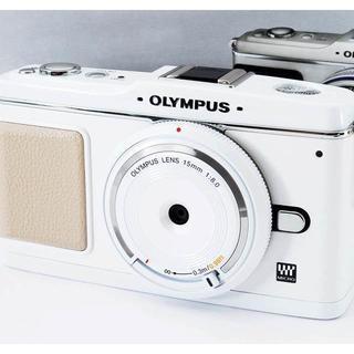 ★希少なピュアホワイト★オリンパス E-P1 レンズセット(ミラーレス一眼)