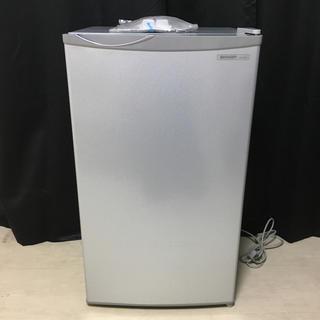シャープ(SHARP)のSHARP 冷蔵庫 シルバー系 SJ-H8W-S【美品・引き取りに来れる方限定】(冷蔵庫)