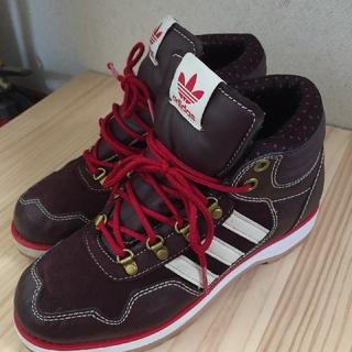 adidas ハイカットスニーカー  23