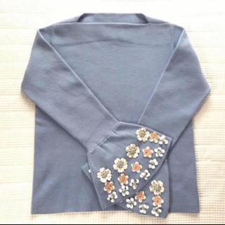 Chesty - チェスティ◆美品◆Flare Flower Sleeve Knit(ニット)