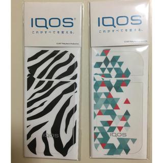 アイコス(IQOS)のIQOS アイコスのカバーシール 4枚セット(タバコグッズ)