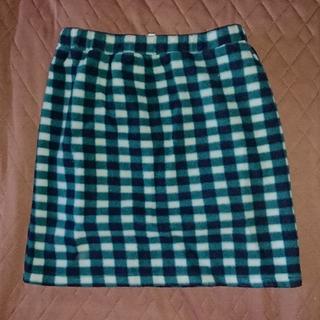 ココルル(CO&LU)のCO&LU☆ココルル☆ギンガムチェック☆フリース☆スカート(ミニスカート)